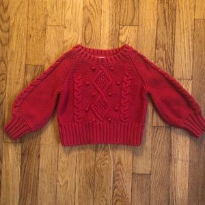 Red Sweater Old Navy 12-18M MAKE AN OFFER